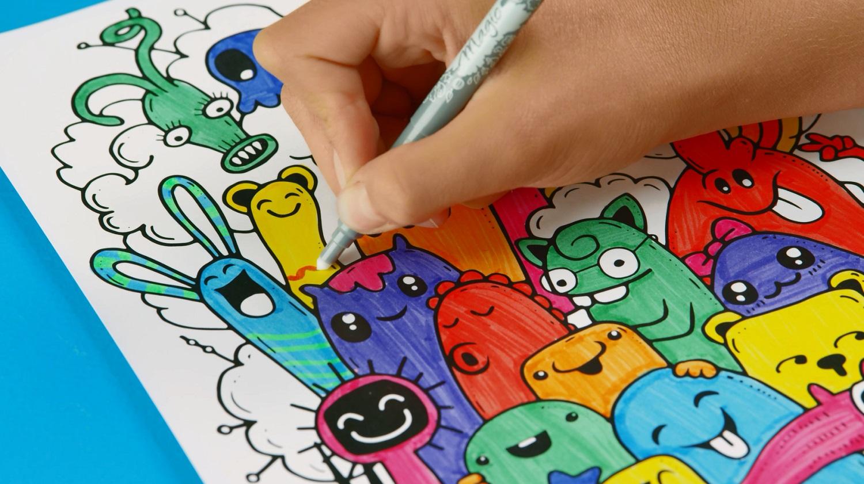 Cahier De Coloriages Et D Activites Educatives A Imprimer