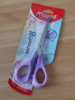 Ciseaux Sensoft pastel violet Maped